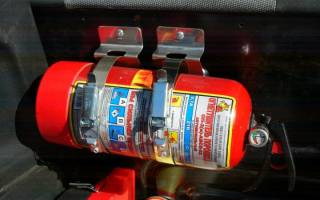 Срок годности порошкового огнетушителя для автомобиля