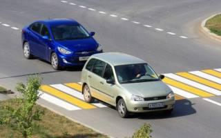 Разрешен ли обгон на пешеходном переходе?