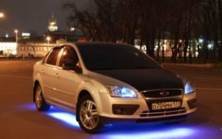 Разрешена ли подсветка днища автомобиля?