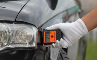 Как проверить лакокрасочное покрытие автомобиля толщиномером