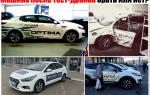 Покупка тестового автомобиля плюсы и минусы